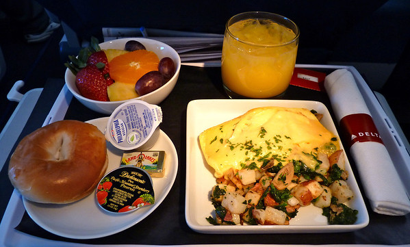 Delta In-flight meal/food service: The definitive thread — Archive ...
